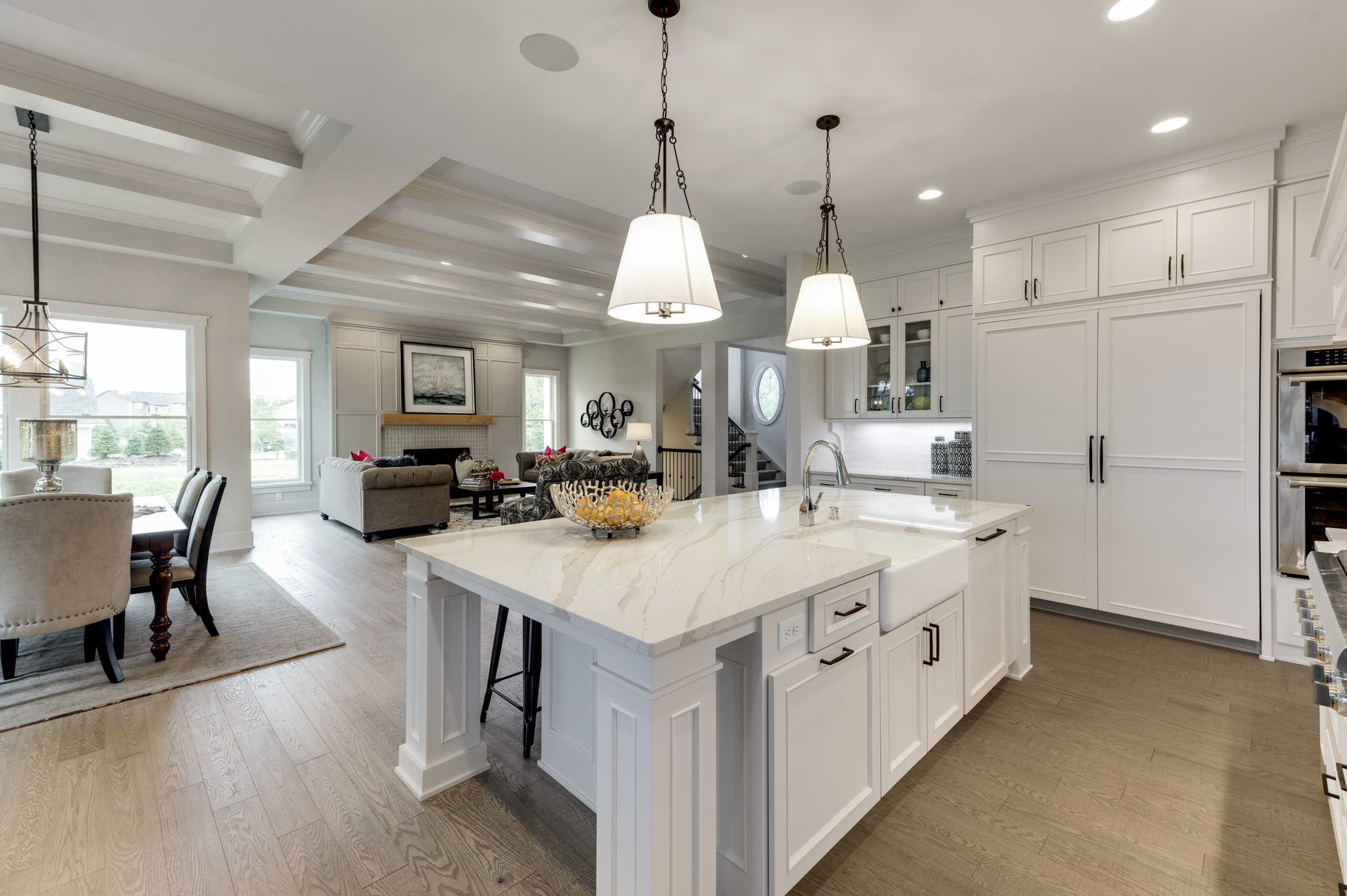 Kitchen of Open Floorplan