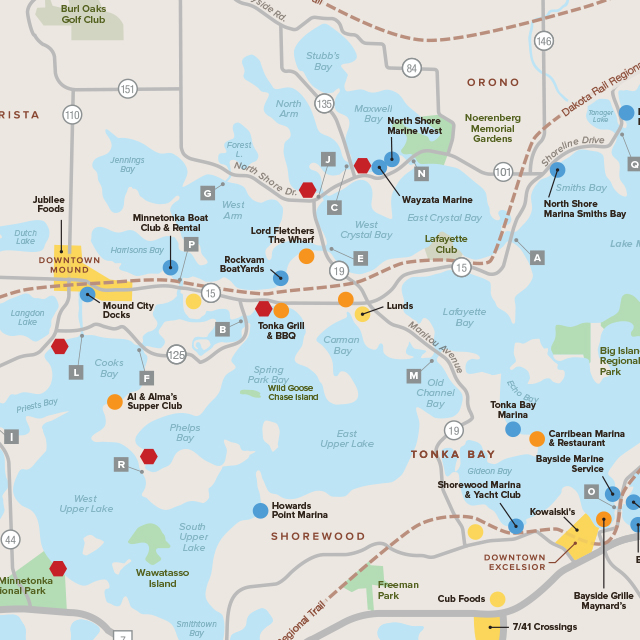 Guide to Lake Minnetonka