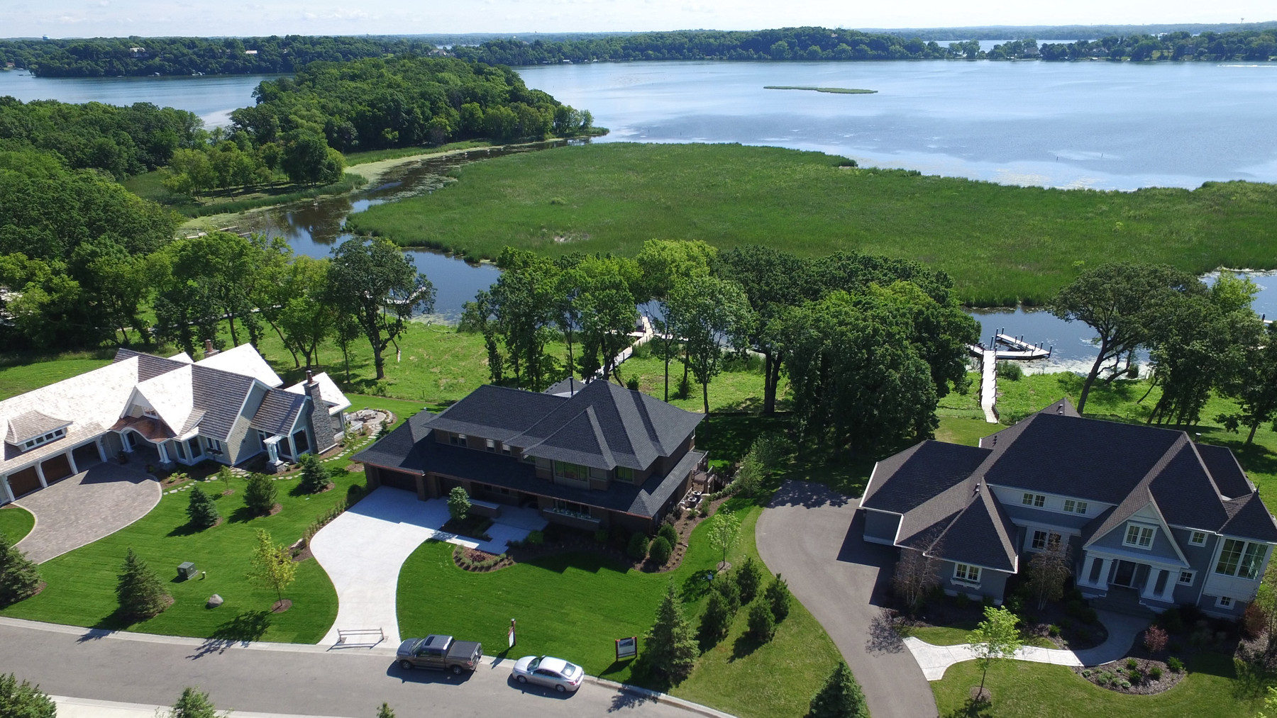 Custom Home Builders on Lake Minnetonka Property