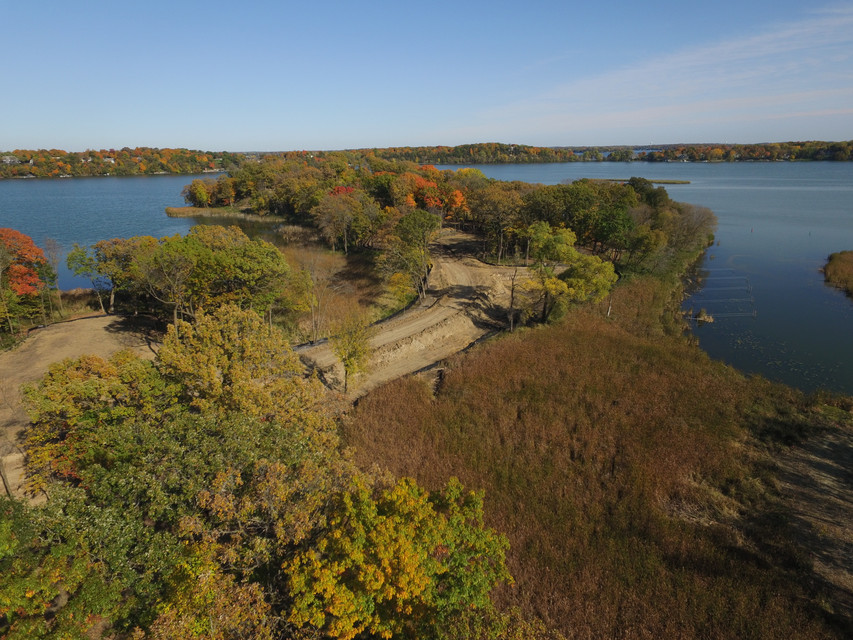 11 Acre Peninsula with 7 amazing homesites on Lake Minnetonka