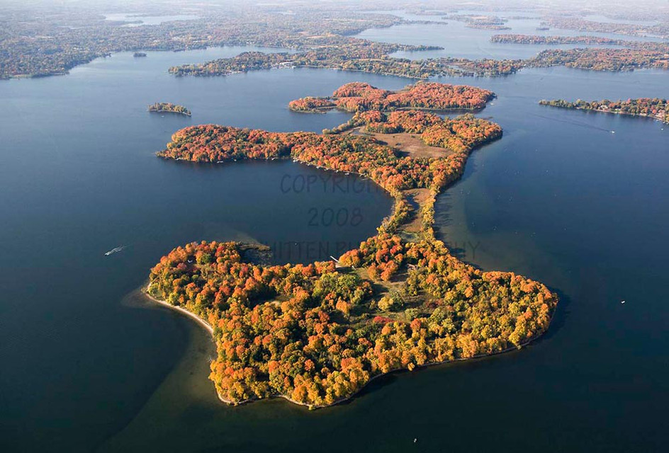 Big Island on Lake Minnetonka