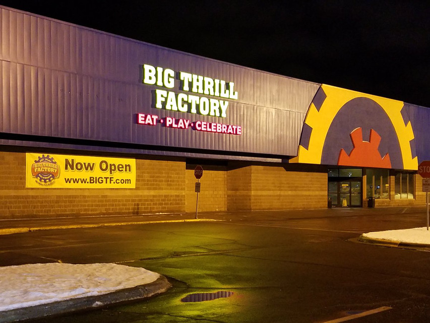 Big Thrill Factory near Lake Minnetonka