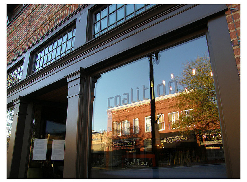 Coalition Restaurant in downtown Excelsior