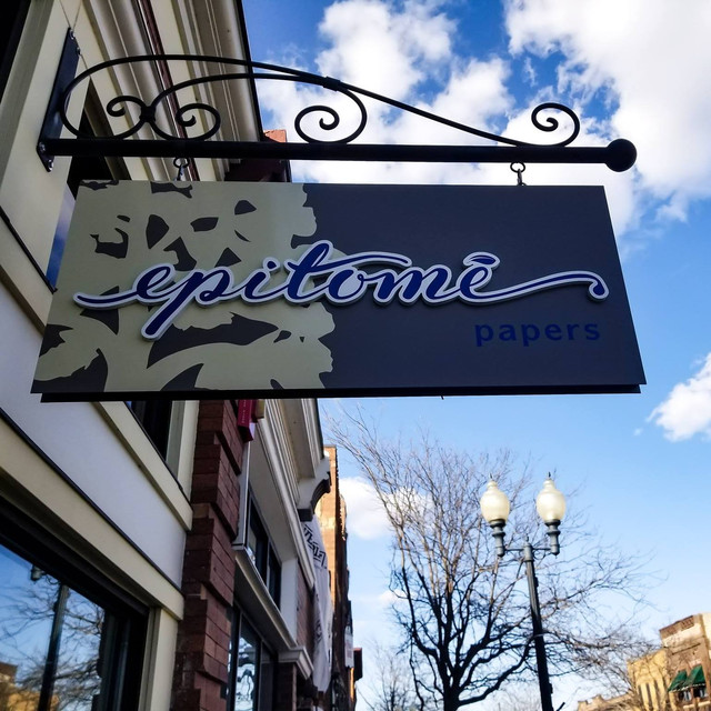 Epitome Papers on Water St. in downtown Excelsior