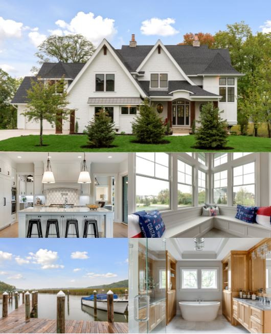 Beautiful Lakeshore Home Built by NIH Homes
